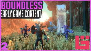 Boundless | GAMEPLAY! Early Game Content In Boundless On The PS4 Pro! What Do You Do In The Game!?