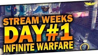 🐧 Stream Weeks Day #1 | Infinite Warfare LIVE!