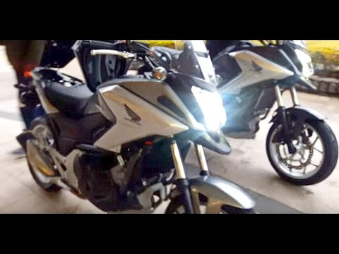 nova honda nc 750x 2016 pr via do teste longo youtube. Black Bedroom Furniture Sets. Home Design Ideas