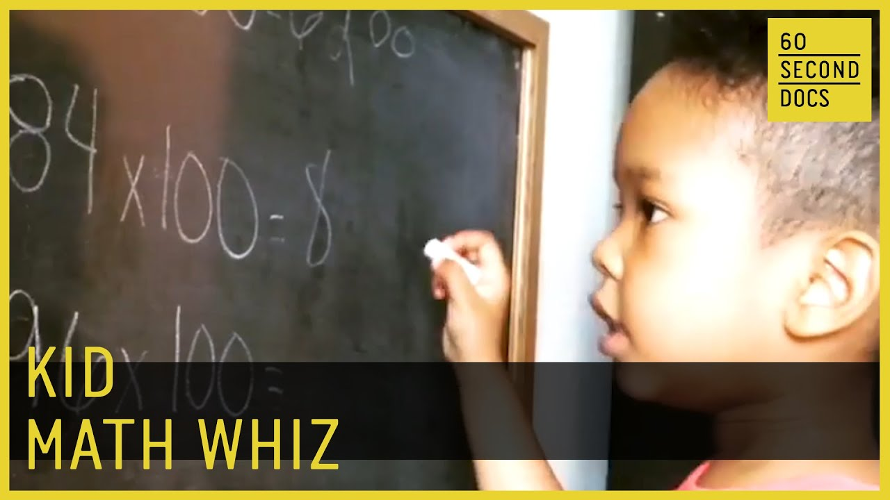 5-Year-Old Math Whiz Solves Algebraic Equations