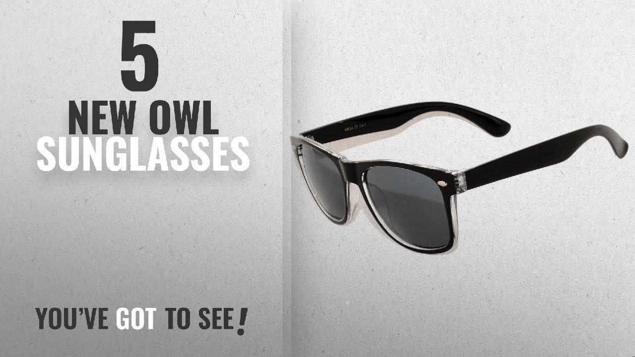 46a02d56486 Top 10 Owl Sunglasses   Winter 2018    New Stylish Retro Two -Tone Vintage Sunglasses  Silver Light