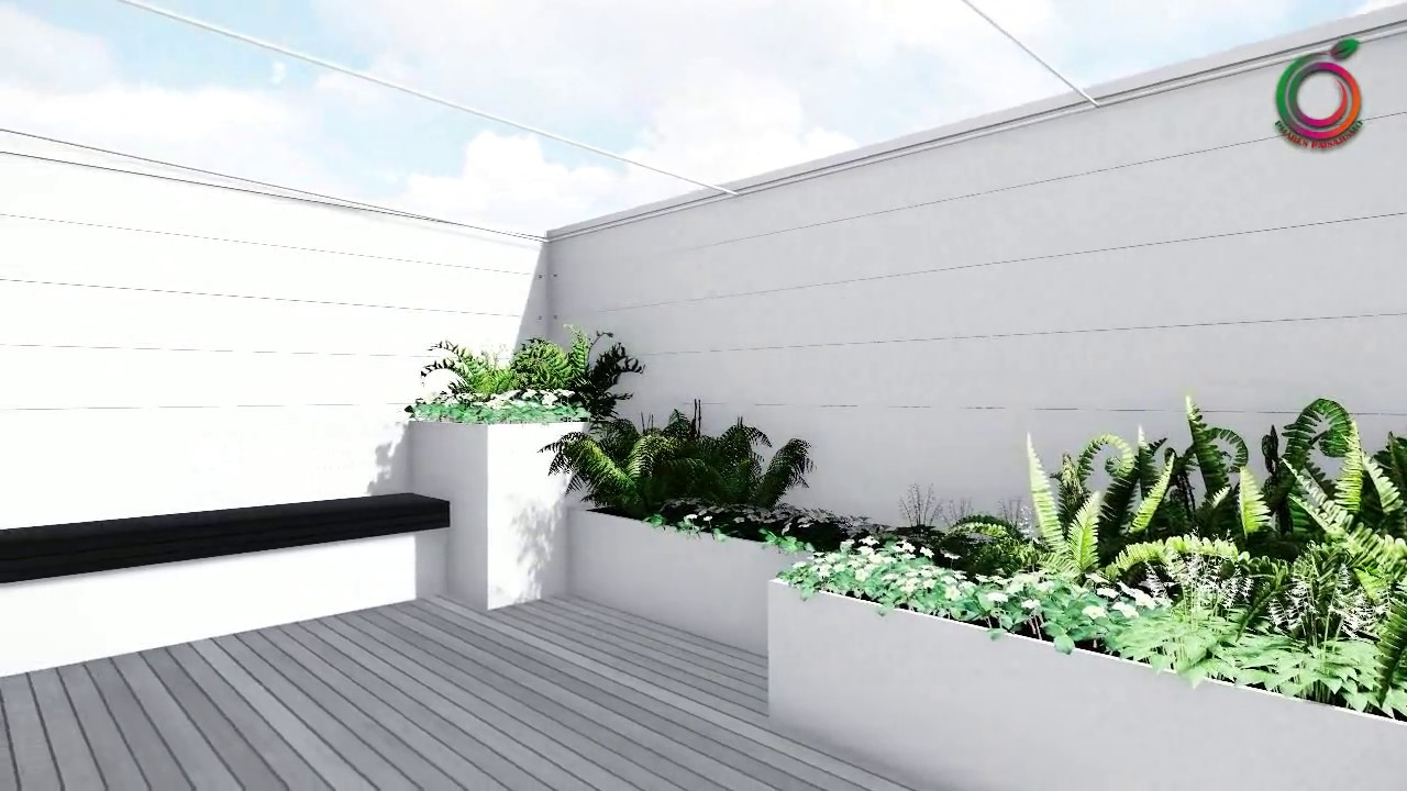 Paisajismo en terrazas viviendas ticos y patios for Paisajismo de patios