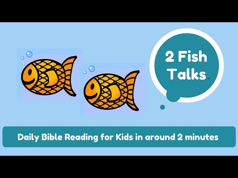 Children's Bible Stories - Merciful Pay for Workers in a Vineyard - October 5 -  2 Fish Talks