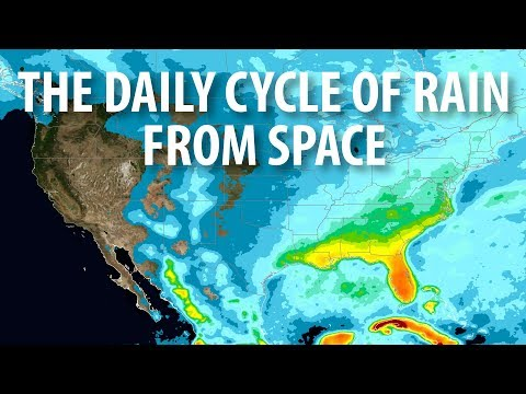 NASA's New View Of The Daily Cycle Of Rain
