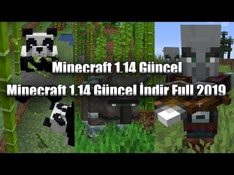 Minecraft 1.14 İndir Full Güncel [2019] %100 Gerçek