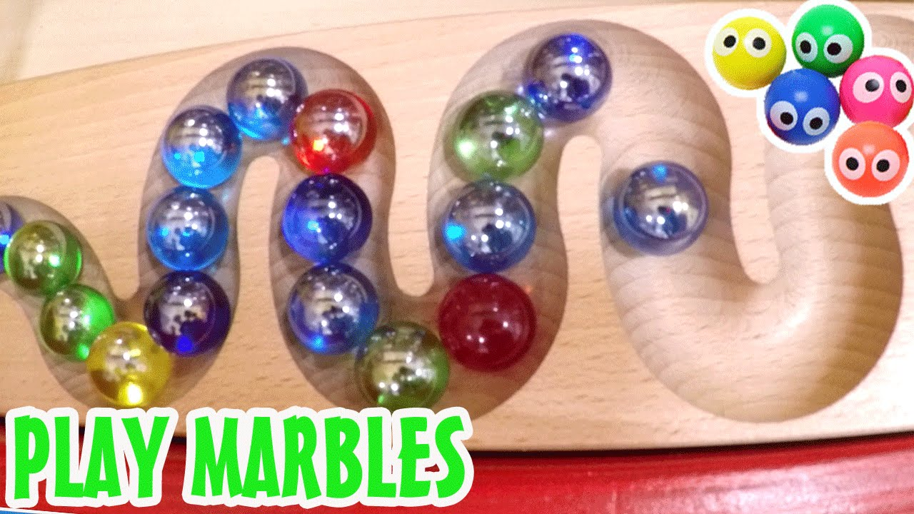 Indoor Playground Fun Play Kugelbahn Collection Marbles Type You