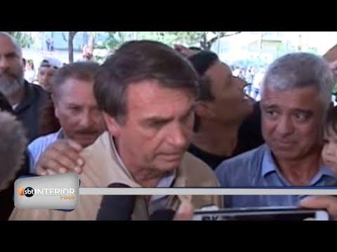Candidato à Presidência da República, Jair Bolsonaro, do PSL, visita região de Araçatuba
