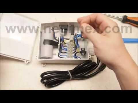 negimex remplacement du condensateur de d marrage boitier tracer stelanox ou franklin. Black Bedroom Furniture Sets. Home Design Ideas
