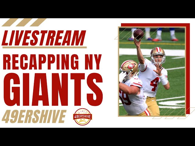 LIVESTREAM: 49ers vs Giants Recap