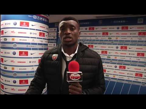 Benjamin Moukandjo au micro de çameditsport après la défaite face au PSG