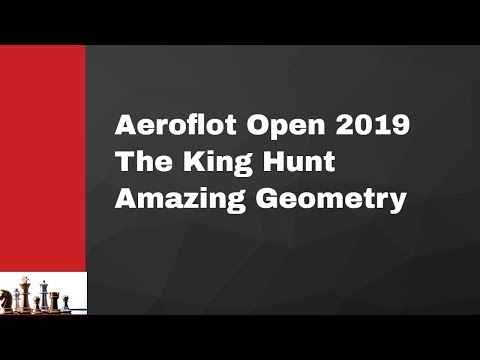 Attack with the English Opening| The KIng Hunt| Amazing Geometry