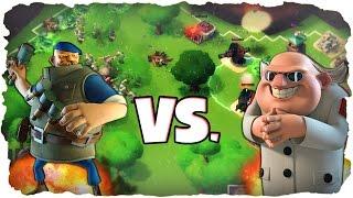 MAX Grenadier vs. Dr. T!   BOOM BEACH   Grenadiers Level 12 vs. Dr. T! (Deutsch / German)