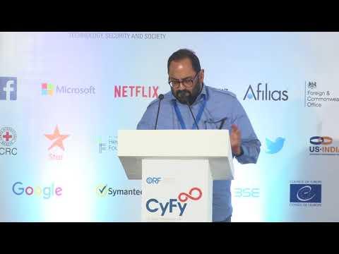 CyFy 2017 | Keynote Address: Rajeev Chandrasekhar, Member of Parliament, India