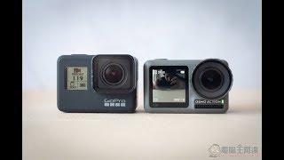 DJI OSMO Action vs. GoPro Hero7 Vlog 與昏暗場景防手震測試