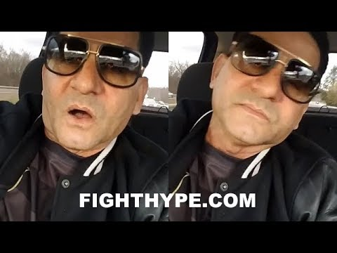 """ANGEL GARCIA CRIES """"BULLSH*T"""" ON FIGHTERS CURSING WITH N-WORD & NOT GETTING IN TROUBLE LIKE HE DID"""