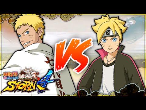 [PC] NARUTO SHIPPUDEN: Ultimate Ninja STORM 4   7th Hokage Naurto VS Boruto Uzumaki  