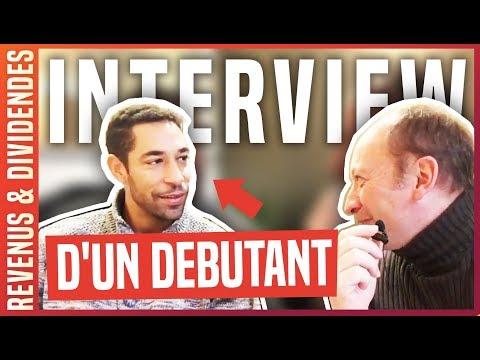 APPRENDRE LA BOURSE : INTERVIEW D'UN DEBUTANT