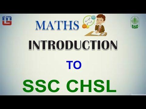 Introduction To  SSC CHSL | Maths