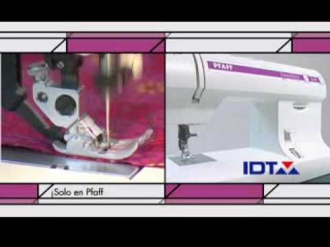 Pfaff Classic Style Quilt Comercial Herrera Youtube
