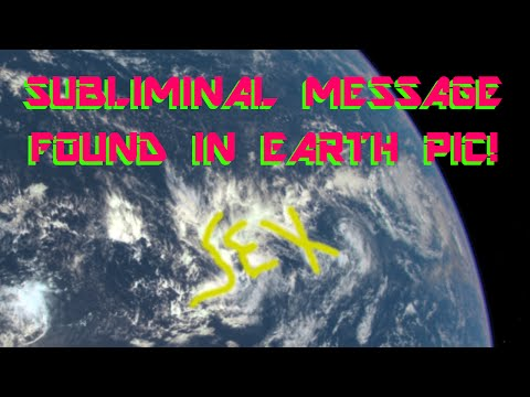 """""""SEX"""" subliminal spotted in new NASA """"EPIC"""" earth image!"""