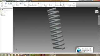 First of graphics software videos, How to make a simple coil, More ...