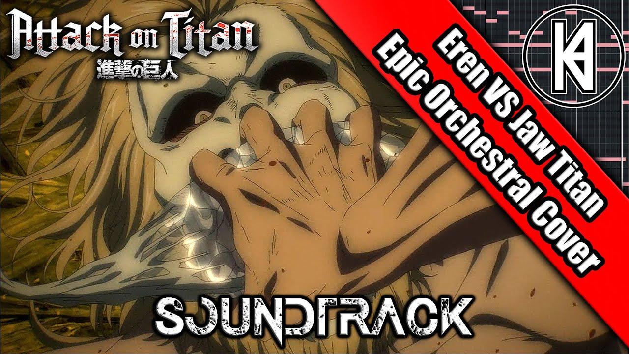 "Download Attack On Titan Season 4 Episode 7 OST ""Jaw Titan Nutcracker X Hange Squad"" Epic Orchestral Cover"