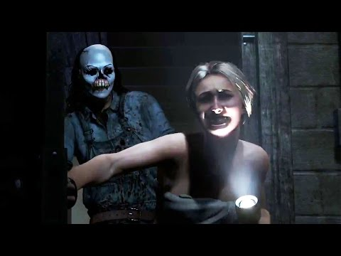 PS4 - Until Dawn Trailer