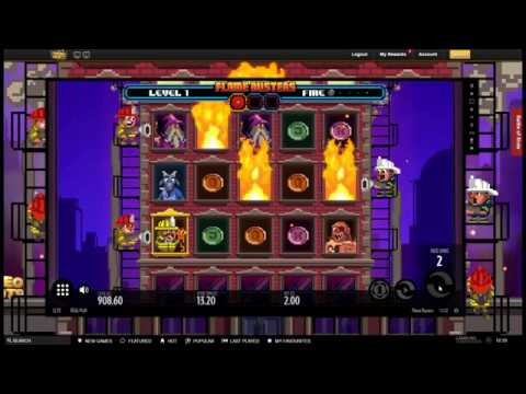 Sunday Slots With The Bandit - Flame Busters, Danger High Voltage plus VideoSlots Draw