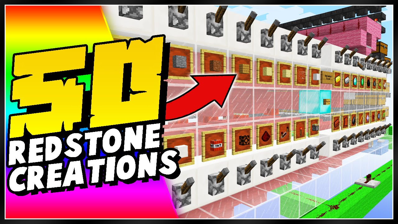50 Minecraft Redstone Creations You Need To See