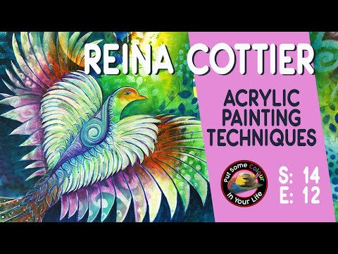 Fine Art Tips with Reina Cottier on Colour In Your Life