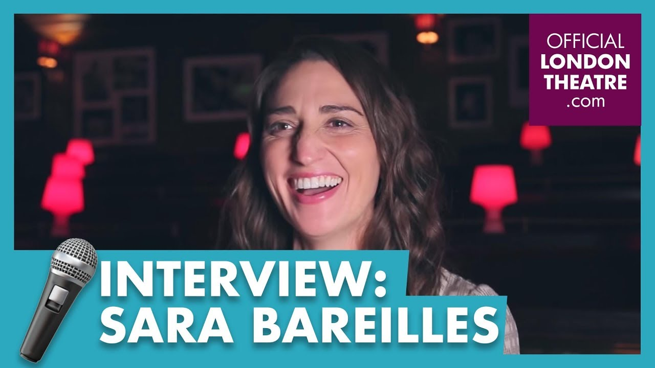 Sara Bareilles discusses Waitress in the West End
