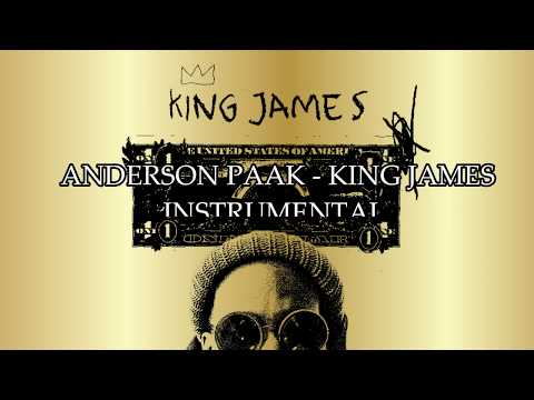 Anderson Paak  – King James Instrumental (Remake by YBF Productions)