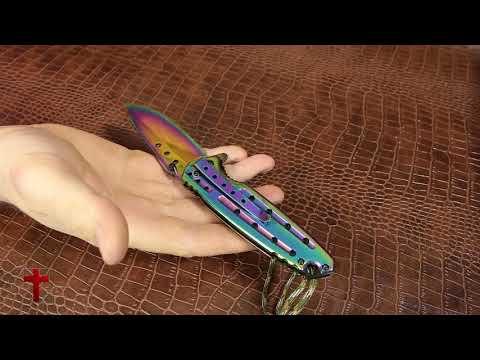 UNBOXING: Rainbow Blade Pocket Knife Grand Way 24448