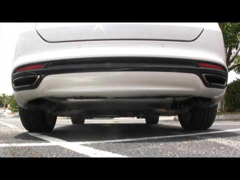 2013 Ford Fusion 2.0L Turbo Magnaflow Exhaust - Steeda Autosports
