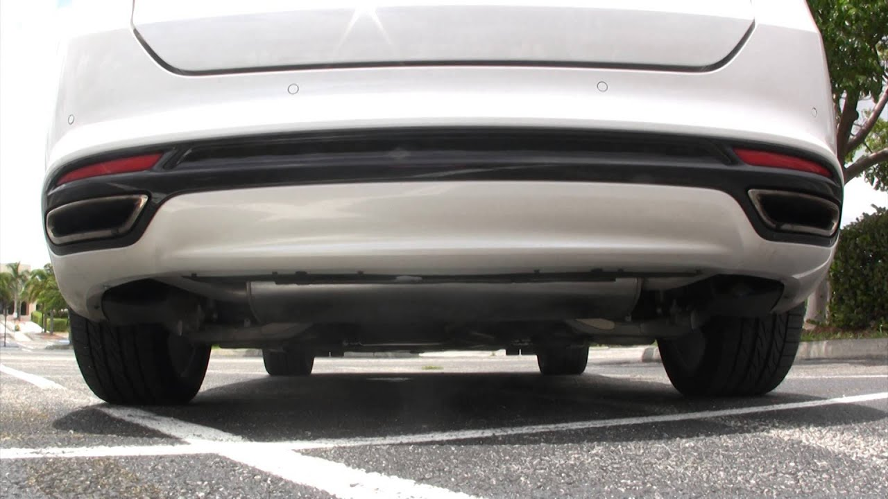 2013 Ford Fusion 2 0l Turbo Magnaflow Exhaust Steeda