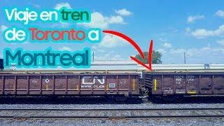Viajé De Toronto A Montreal En Tren Mexicano En Canadá Youtube