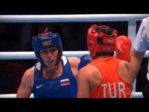 Бокс: бой Саадат Далгатовой в полуфинале ЧМ