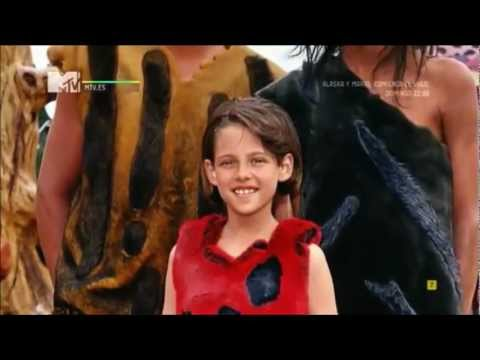 Kristen Stewart in the Flintstones Movie