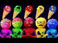 Cakep Pops  Spiderman Paw Patrol SuperHeroes  Finger Family Colors Learn
