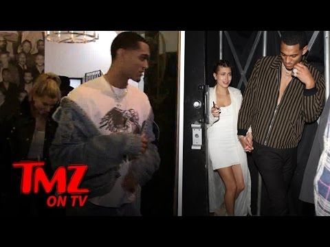 Laker Star Jordan Clarkson & Hailey Baldwin: Date Night | TMZ TV