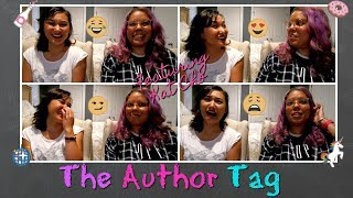 The Author Tag! (Featuring Kat Cho)