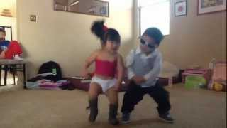Repeat youtube video Gangnam style - little psy and  sexy baby