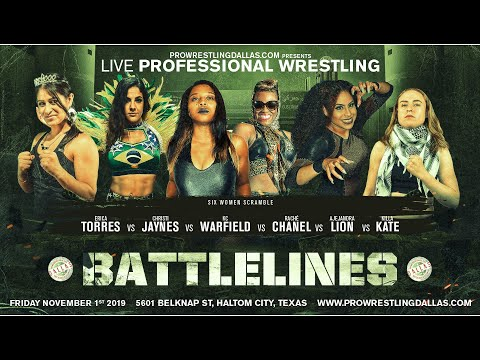 FREE MATCH: Erica Torres Vs KC Warfield Vs Rache Chanel Vs Alejandra Lion Vs Killa Kate