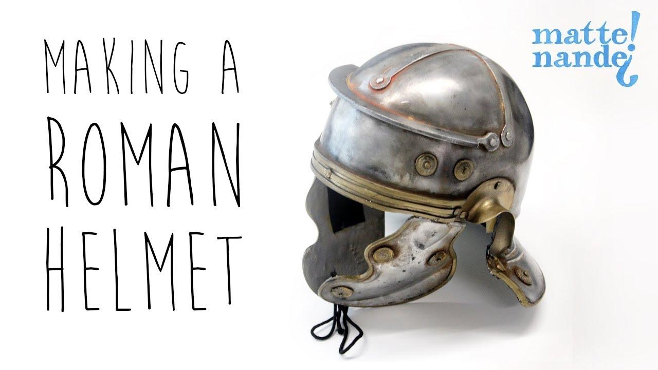 how to make a roman helmet brabantsedag making of youtube