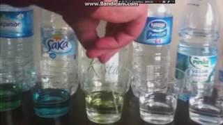 Piyasadaki Suların pH ölçümü PH measurement of waters in the market Bu Videoyu İzlemeden Su Almayın