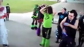 giga pudding cybergoth dance
