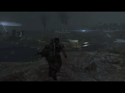 Metal Gear Solid V - busywork: Angola oil refinery - No HUD