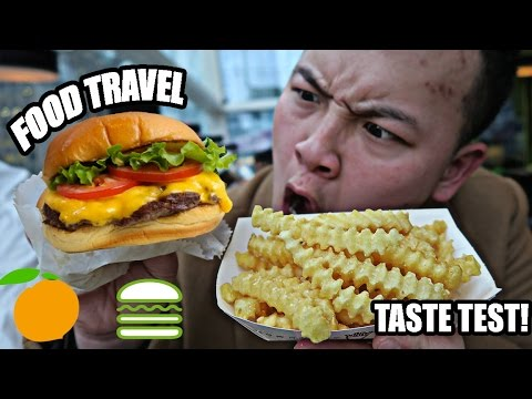 CANADIAN TRIES SHAKE SHACK BURGER! POP-UP SHOP IN TORONTO! IS IT WORTH THE HYPE?! (FOOD TRAVEL)