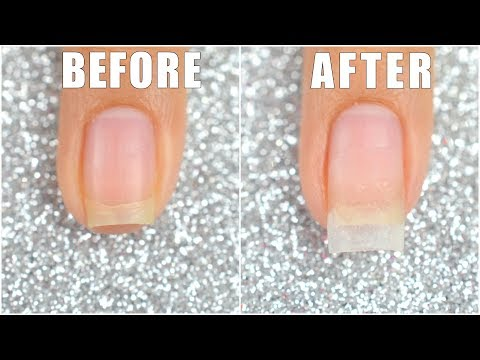 How To Extend Your Short Nail Using Dip Powder