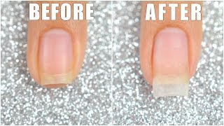 How To Extend Your Short Nail Using Dip Powder || LIFEISNAILS thumbnail